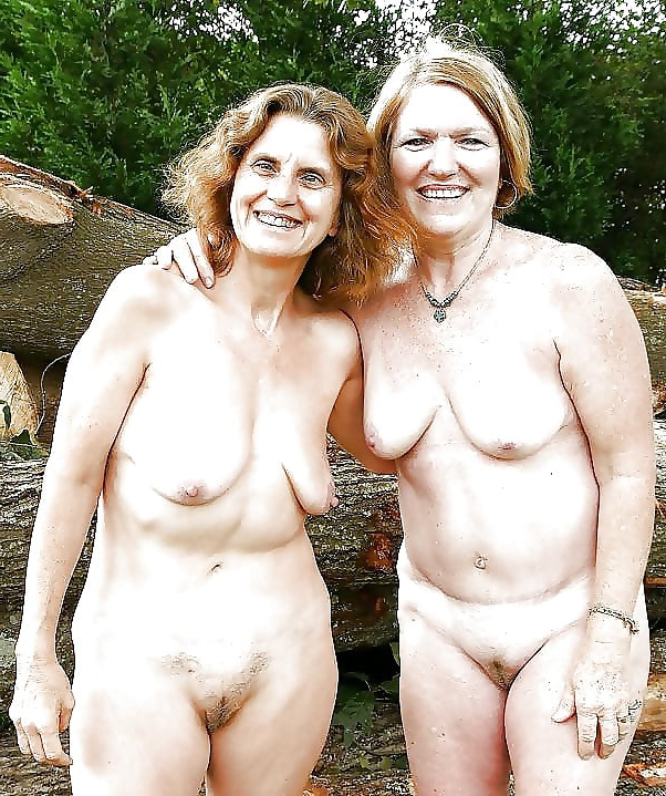 Nude mature groups